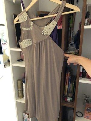 Faith connexion One Shoulder Dress grey brown