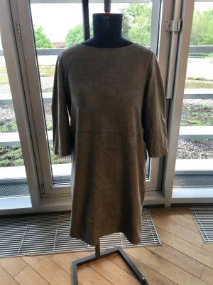 Kleid Fake Leder Grau Esprit Gr. L