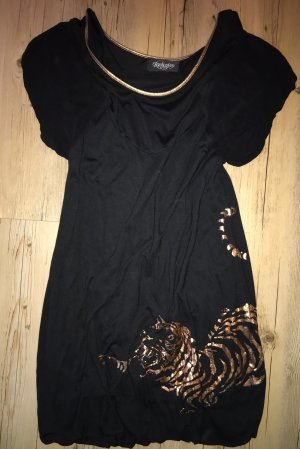 Religion Balloon Dress black-gold-colored