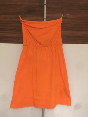 Pimkie Vestido naranja neón
