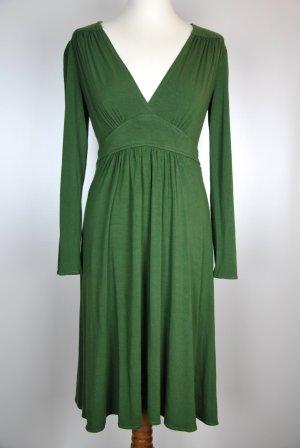 Maggy London Vestido cruzado verde-verde bosque
