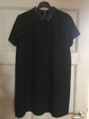 Zara Robe à manches courtes noir