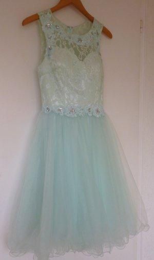 Kleid festlich in pastell mint