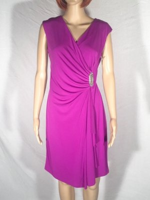 Kleid festlich lila Strass Gr. 38 NEU