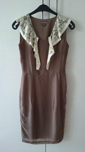 Kleid FEVER London mit Spitzenkragen Größe 36 NEU