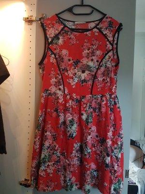 Kleid florales Muster gr. 40