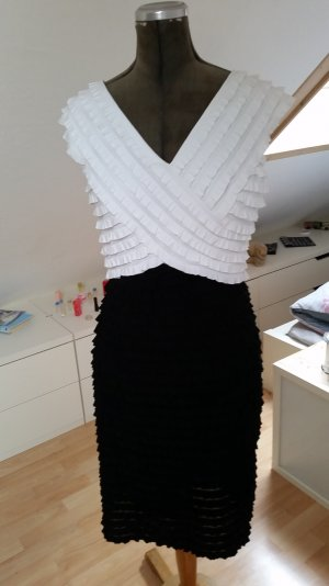 Kleid Frank Lyman; schwarz / weiß; Gr. 36