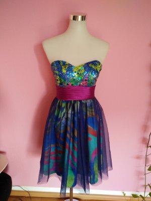 Kleid für Abi/Ball/Abschluss/Hochzeit in bunt (B1)
