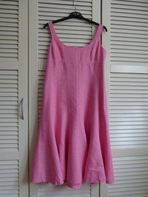 Kleid für den Sommer Ralph Lauren Leinen pink Gr. 38/40