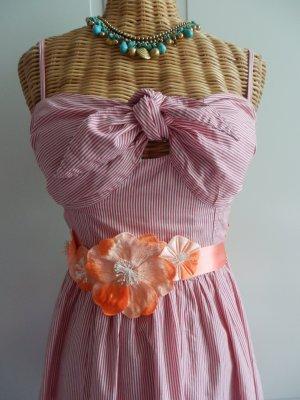Kleid für den Sommer von H&M gestreift  Gr. 36 S  Vintagelook