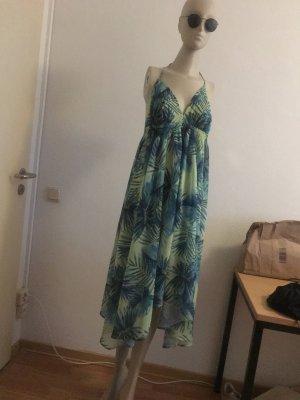 Robe de bain vert-bleu azur