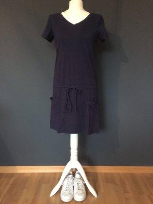 Kleid Gant Marine V-Ausschnitt