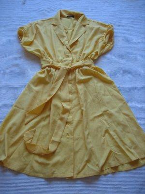 kleid gelb sommer neu gr. s 36 retro pin up vintage shein