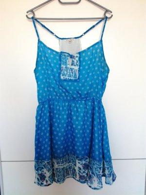Alcott Vestido de chifón azul