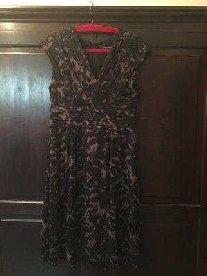 Kleid gemustert aus Seide