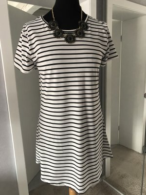 Beach Dress white-black