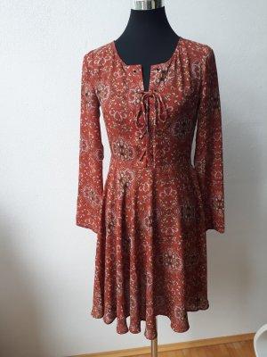 Glamorous Robe chiffon multicolore