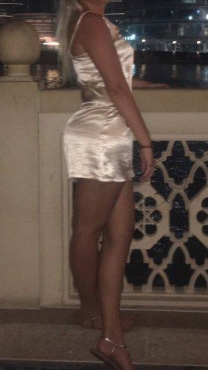 Kleid Gold Satin forever21