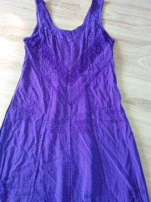 Kleid Gothic Boho Elegant Traum Lila 38 M S-M H Süss HOLYCLOTHING