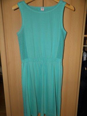 Kleid Gr. 170 176 s.Oliver grün 34 36 Baumwolle