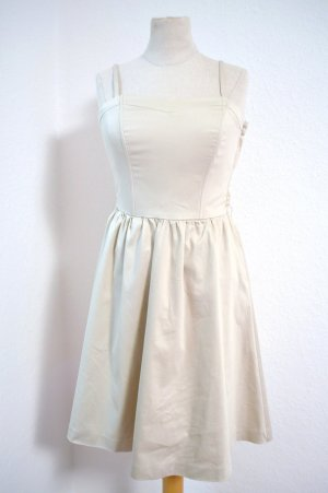 Kleid Gr. 34 Champagne Beige Cotton Neu