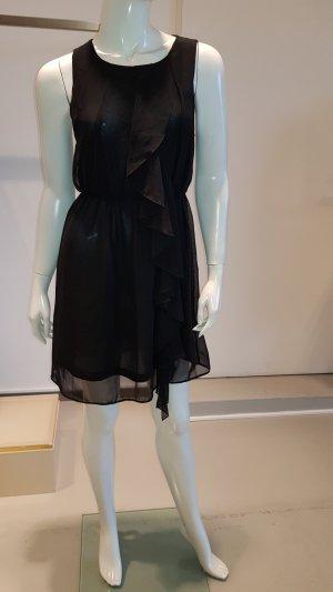 H&M Volante jurk zwart