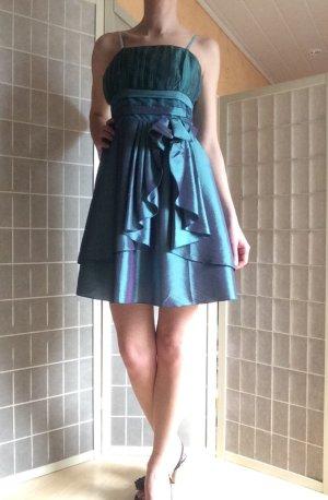 Kleid gr.36/38 grün, festlich