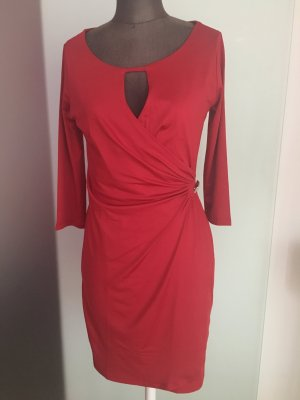 Kleid Gr 36 48 S rot Bodyflirt