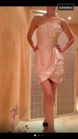 Kleid gr.36 beige/Gold