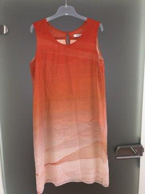 Turnover Midi Dress multicolored