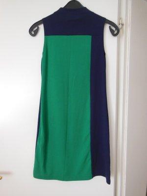 Kleid Gr. 36 ohne Arm blau grün