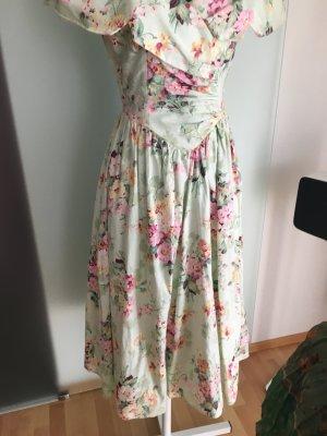Kleid Gr 36 S Yessica Vintage Rosen Muster