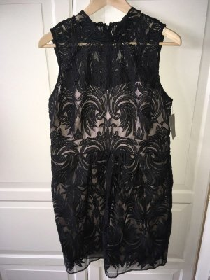 Kleid Gr. 40/42 M (UK 16) Anthropologie Neu Etikett schwarz transparent Etuikleid Spitze dress Kleider