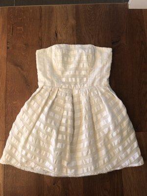 Topshop Bustier Dress cream