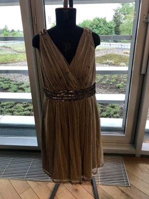 Kleid Gr.40 Dress Special Taupe Esprit
