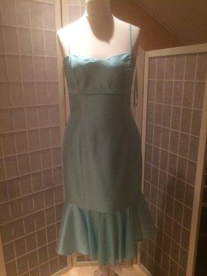 Kleid gr.40 in babyblau, mit Trägern