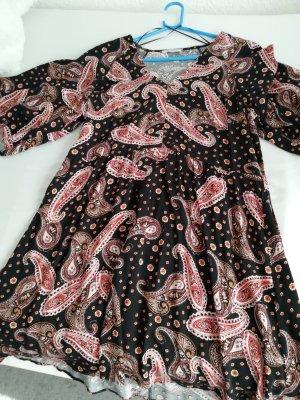Orsay Vestido tipo túnica negro-color rosa dorado