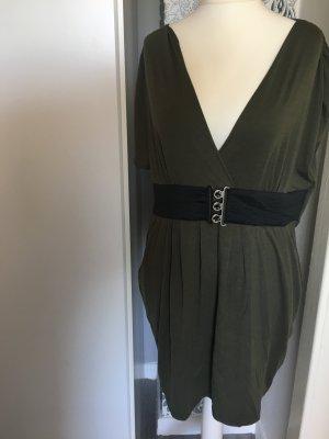 Kleid Gr 48 Oberteil Khaki