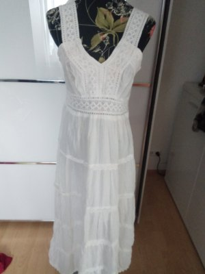 Maxi abito bianco