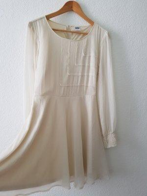 Kleid Gr.M Vero Noda Weiß/creme