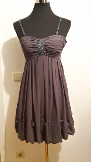Kleid grau glitzer von Laona