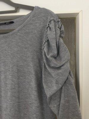 Kleid grau stradivarius Größe S/M