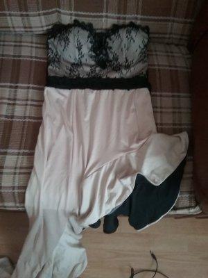 Kleid Große M  schwarz mit beige .......