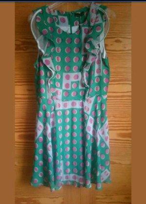 Kleid grün pink von Vero Moda