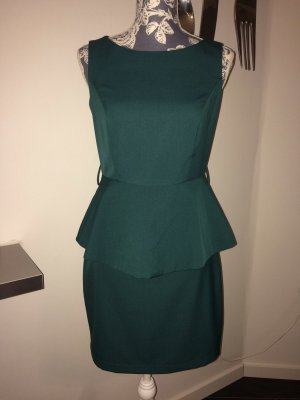 adl Peplum Dress multicolored