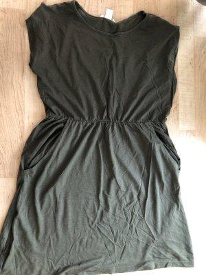 Jersey Dress green grey