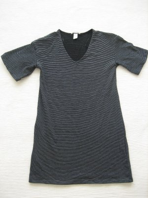 kleid H&M basic neu schwarz sommerkleid gr. s 36