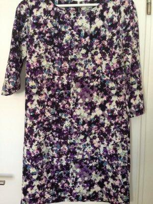 H&M Robe à manches longues multicolore