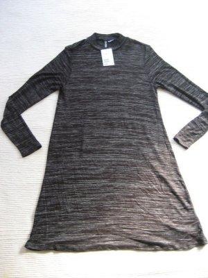 kleid H&M divided neu gr. 36 s grau herbstkleid