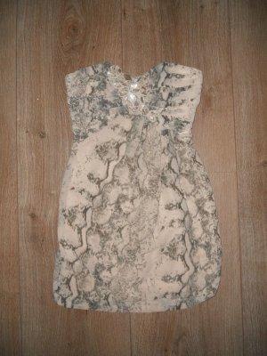 Kleid H&M Schlangenoptik Gr. 34
